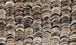 Pile de tuiles de toiture Images libres de droits