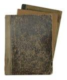 Pile de vieux carnets Image stock