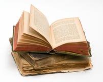 Pile de vieux livres photographie stock libre de droits