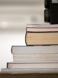 Pile de vieux livres Photographie stock