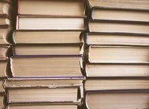 Pile de vieux livres Photo stock