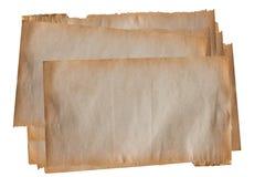 Pile de vieux papier Photographie stock libre de droits