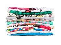 Pile de vêtements Image stock