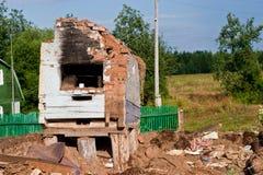 A pile of debris Stock Photos