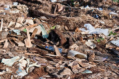A pile of debris Royalty Free Stock Photo