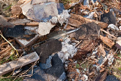 A pile of debris Stock Images