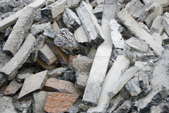 Pile of debris Royalty Free Stock Photo
