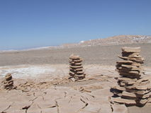 Pile del deserto Fotografie Stock