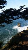 Pile del mare Immagini Stock Libere da Diritti