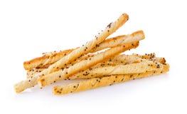 Pile of delicious pretzel sticks Royalty Free Stock Photo