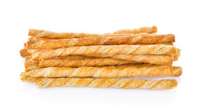 Pile of delicious pretzel sticks Royalty Free Stock Photography