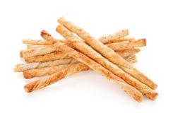 Pile of delicious pretzel sticks Royalty Free Stock Photos