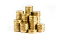 Pile delle monete Immagine Stock Libera da Diritti