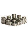Pile delle monete Immagini Stock Libere da Diritti