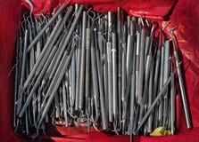 Pile dentaire d'outils Image libre de droits