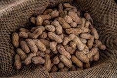 Pile des arachides Image stock