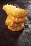 Pile des biscuits Photo libre de droits