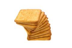 Pile des biscuits Image libre de droits