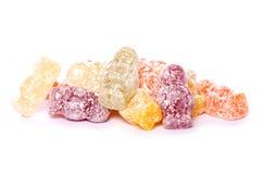 Pile des bonbons à bébé de gelée Image libre de droits
