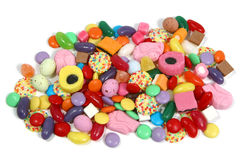 Pile des bonbons Images libres de droits