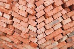 Pile des briques photographie stock libre de droits
