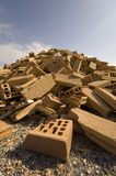 Pile des briques images libres de droits