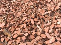 Pile des briques Photo libre de droits