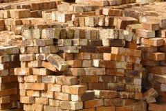 Pile des briques Photos stock