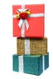 Pile des cadeaux Images libres de droits