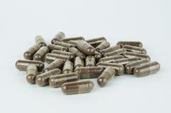 Pile des capsules Image stock