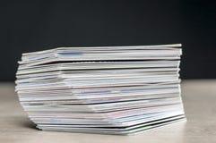 Pile des cartes de crédit image libre de droits