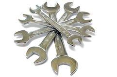 Pile des clés (clés) Images stock
