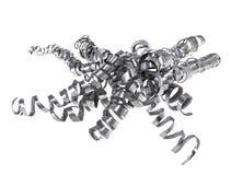 Pile des copeaux en métal Image libre de droits