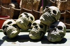 Pile des crânes Photographie stock libre de droits