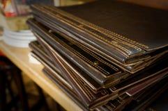 Pile des dossiers photographie stock