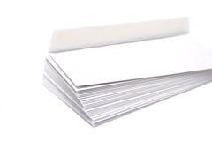 Pile des enveloppes Photographie stock