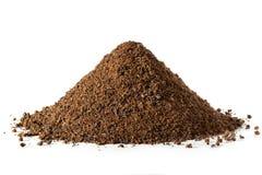 Pile des feuilles de thé lâches photographie stock libre de droits