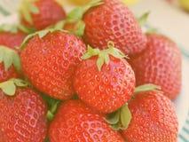 Pile des fraises Images stock
