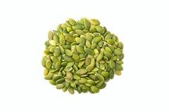 Pile des graines de citrouille Photo stock
