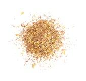 Pile des herbes sèches. Images stock