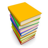 Pile des livres Images stock