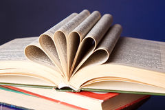 Pile des livres Images libres de droits