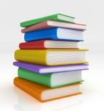Pile des livres illustration stock