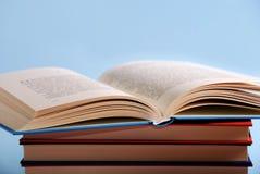 Pile des livres Photographie stock libre de droits