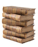 Pile des livres antiques Photographie stock
