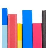 Pile des livres neufs Photos stock