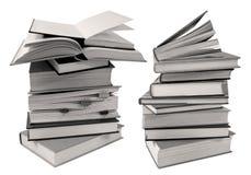 Pile des livres pour lire ou étudier Photo libre de droits