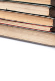Pile des livres très vieux Photo stock