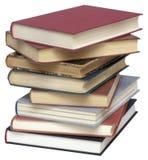 Pile des livres utilisés Image stock