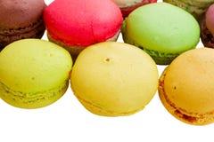 Pile des macarons Photographie stock libre de droits